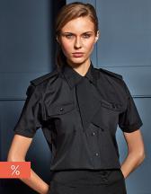 Ladies` Pilot Shirt Shortsleeve