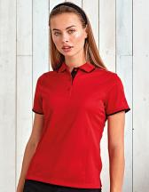 Ladies` Contrast Coolchecker Polo