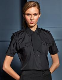 Ladies` Pilot Shirt Shortsleeve